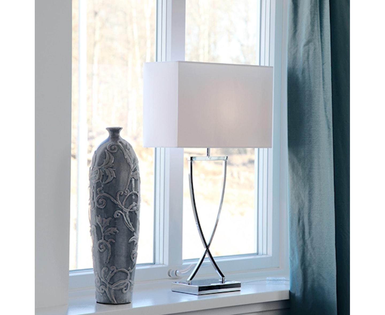 By Rydéns Omega Bordslampa Krom 52cm