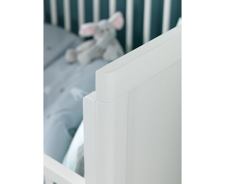 Troll Nursery Lukas Spjälsäng/Soffa Vit
