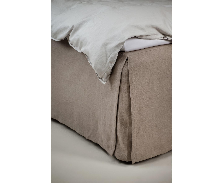 Himla Mira Loose Sängkappa Stone 120x220x52