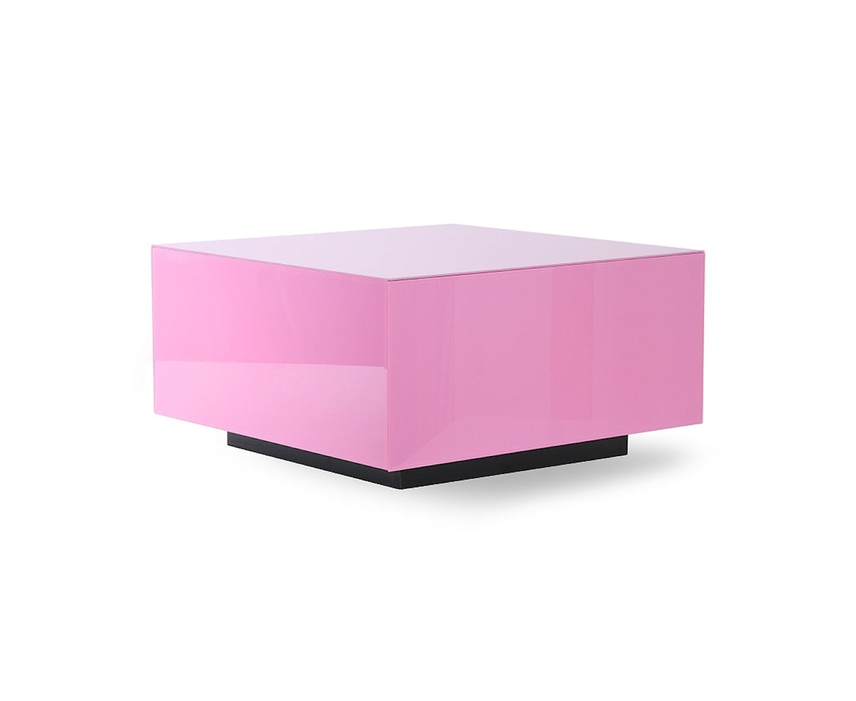 HKliving Block Spegelbord Pink 60cm