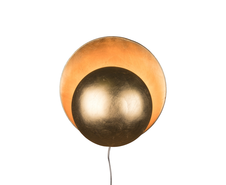 Globen Lighting Orbit Vägglampa Mässing