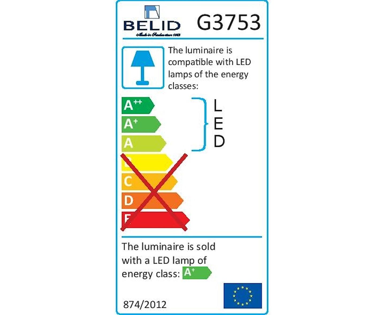 Belid Cato LED Golvlampa Vit