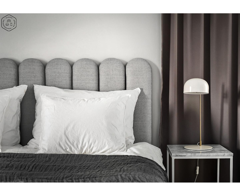 Himla Hannelin Överkast Charcoal/White 160x260