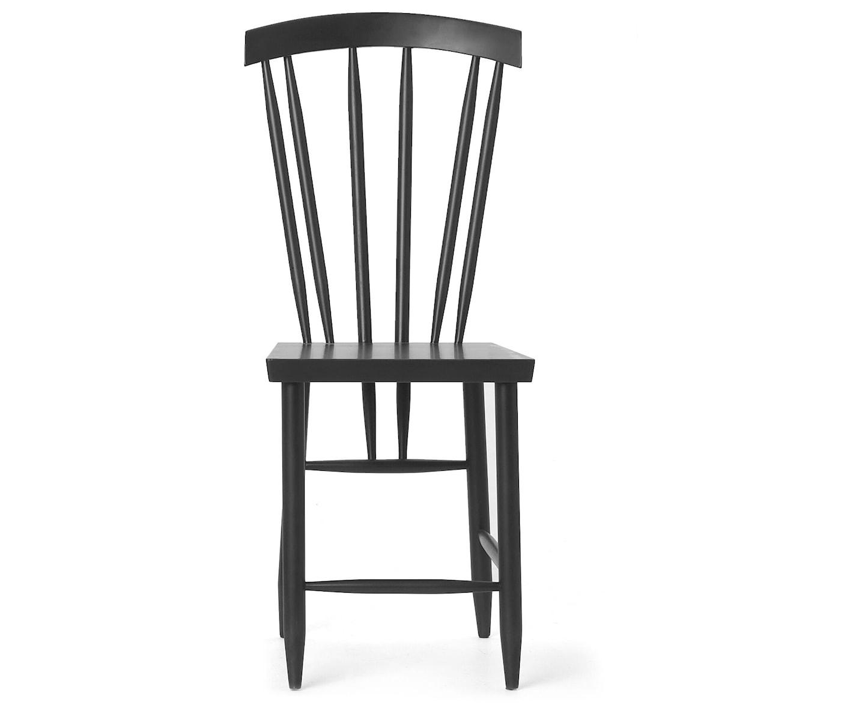 Design House Stockholm Family Chair No.3 Matstol Svart 2-pack