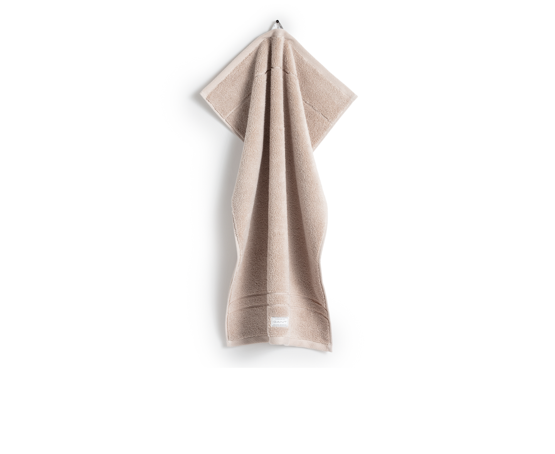 GANT Home Organic Premium Terry Handduk Dry Sand 70x140