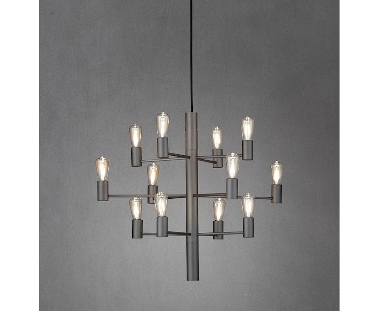 Herstal Manola 12 LED Taklampa Graphite