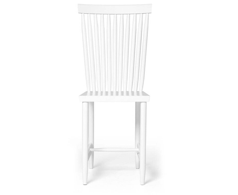 Design House Stockholm Family Chair No.2 Matstol Vit 2-pack