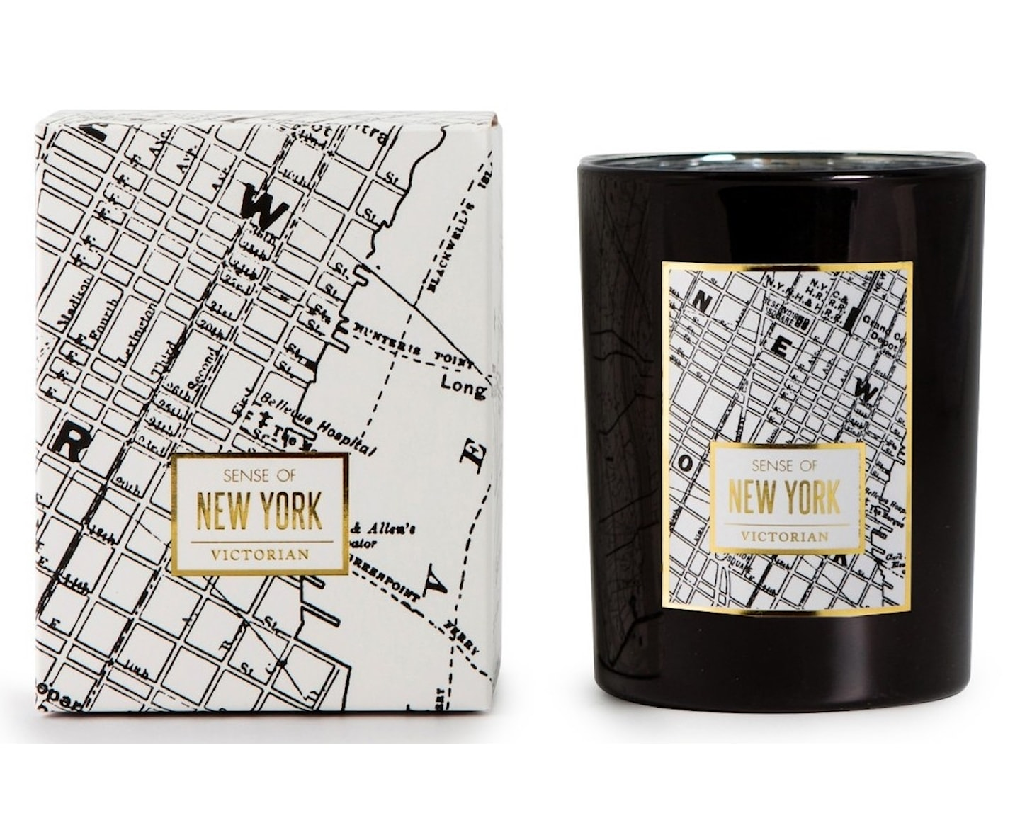 Victorian Maps Doftljus New York
