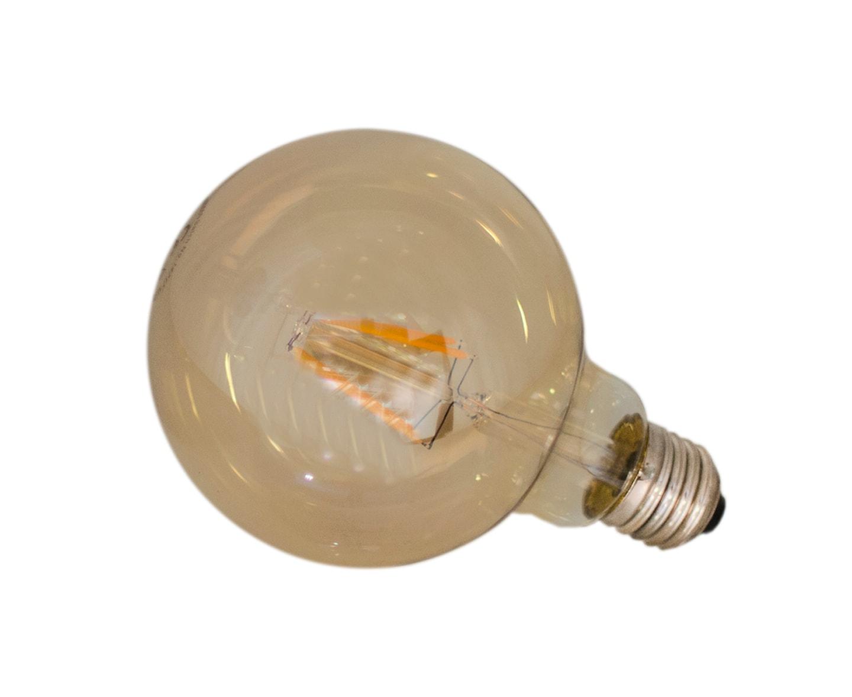 By Rydéns LED dimbar, Glob E27/4W  Ø95mm, Amber