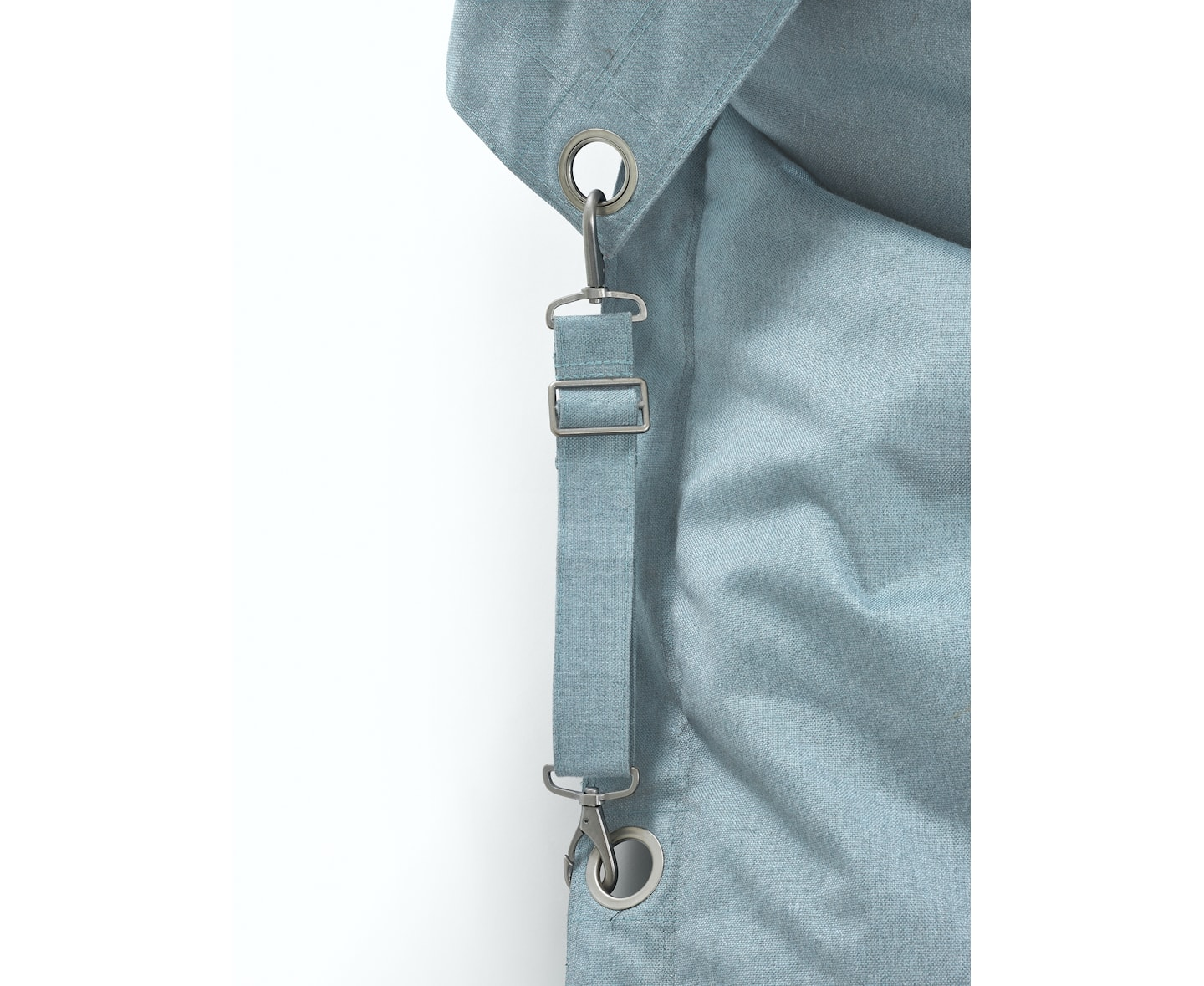 Fatboy Buggle-Up Outdoor Sittpuff Mineral Blue