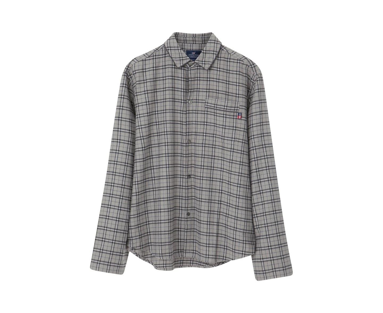 Lexington Vince Pyjamas Grå/Blå XL