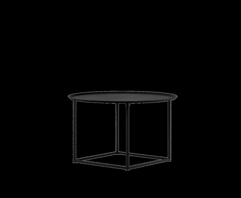 Design Of Round Square Soffbord Svart Ø76