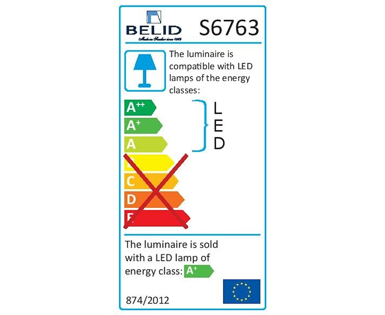 Belid Cato Skena 3 spotlight LED Taklampa Vit