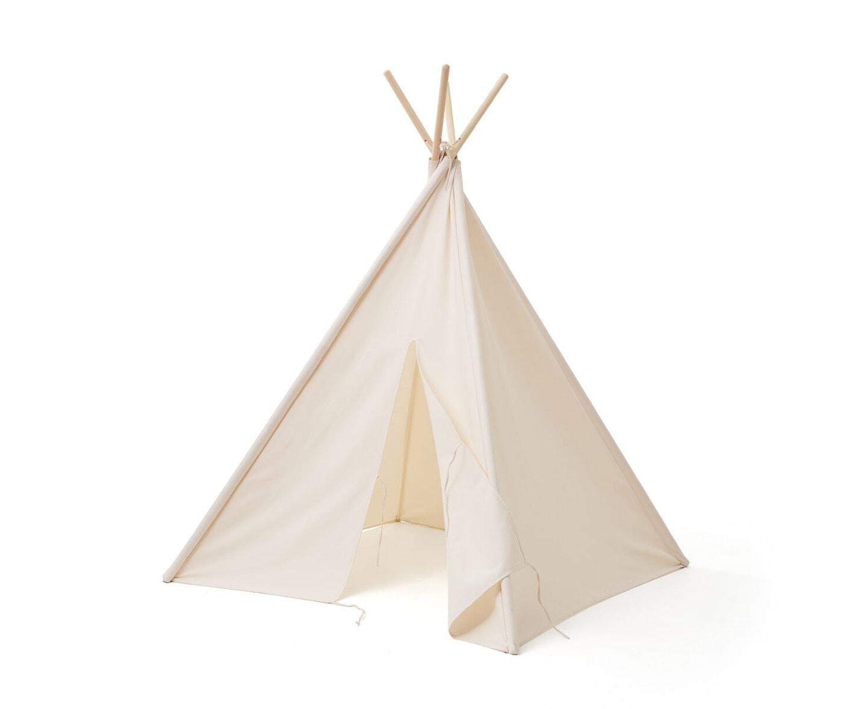 Kids Concept Malin Tipitält Naturvit 160cm