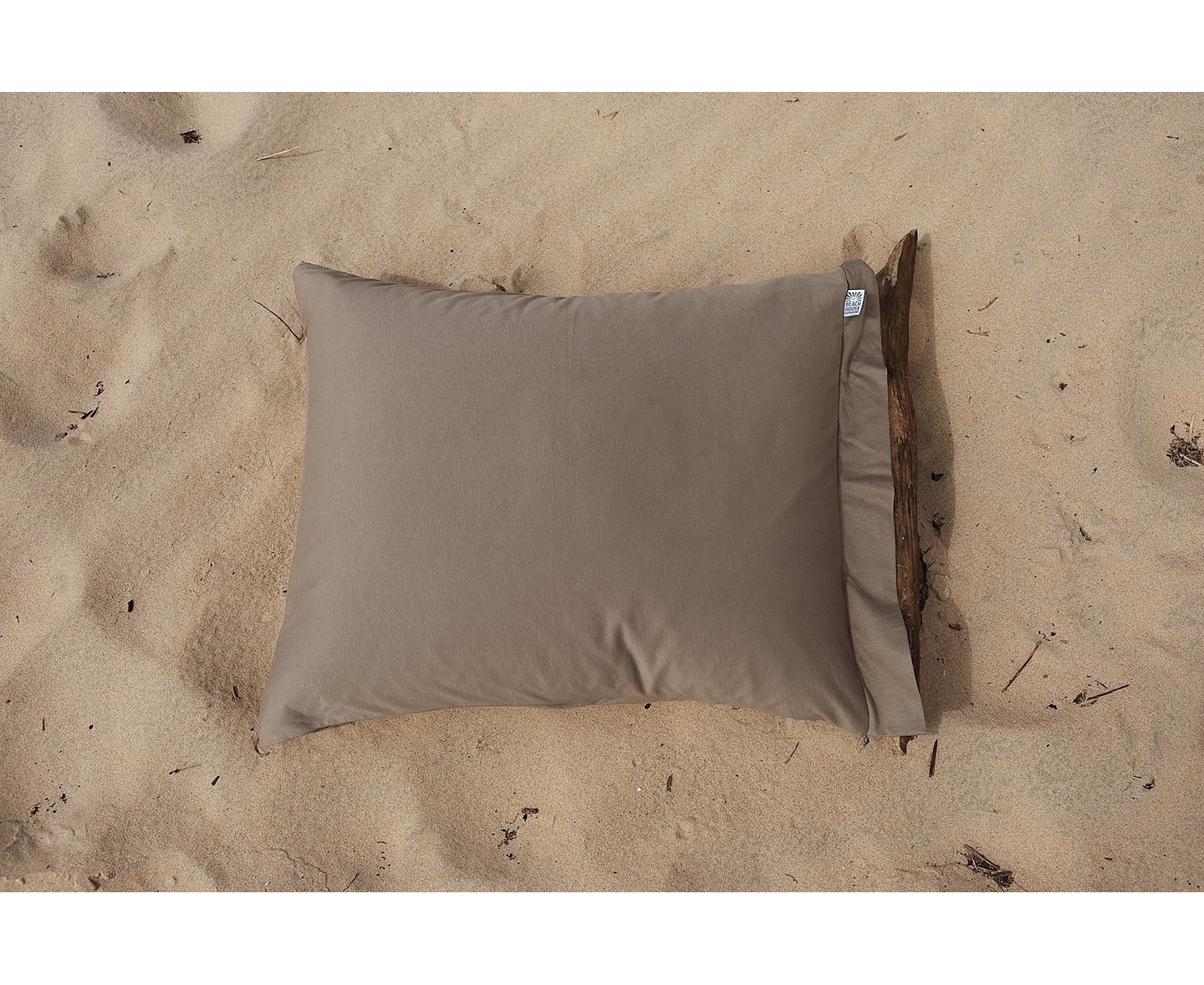 Beach House Company Plain Örngott Coffee 50x60