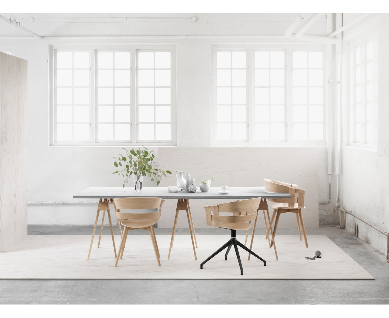 Design House Stockholm Wick Matstol Ek
